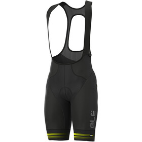 Alé Cycling Graphics PRR Slide Bib Shorts Herre black/fluo yellow
